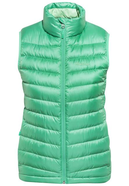Kletterausrüstung Jena : Marmot jena vest women gem green campz
